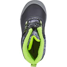 Merrell Snow Bank 2.0 Waterproof Boots Kinder black/grey/green